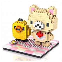 MiniBlock Korilakkuma et Kiiroitori