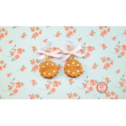 Boucles d'oreilles Biscuit So Cute