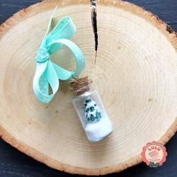 décoration de sapin fiole