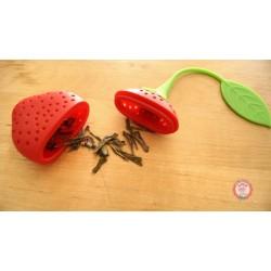 infuseur fraise ouvert