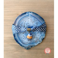 Bracelet Cupcake Myrtille