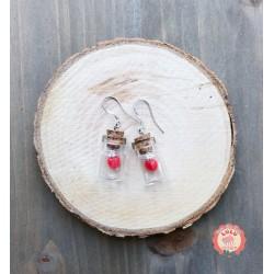 Boucles d'oreilles Saint Valentin